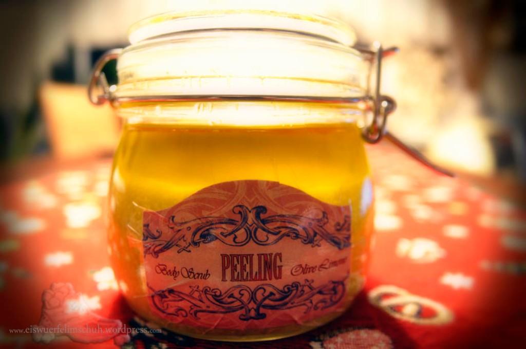 Körperpeeling Olive Limone