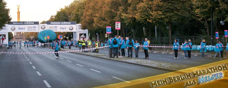 Berlin Marathon als Helfer Blog Banner Volunteer