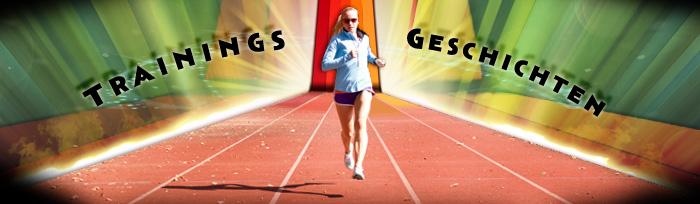 Trainings Geschichten Banner Laufen Joggen