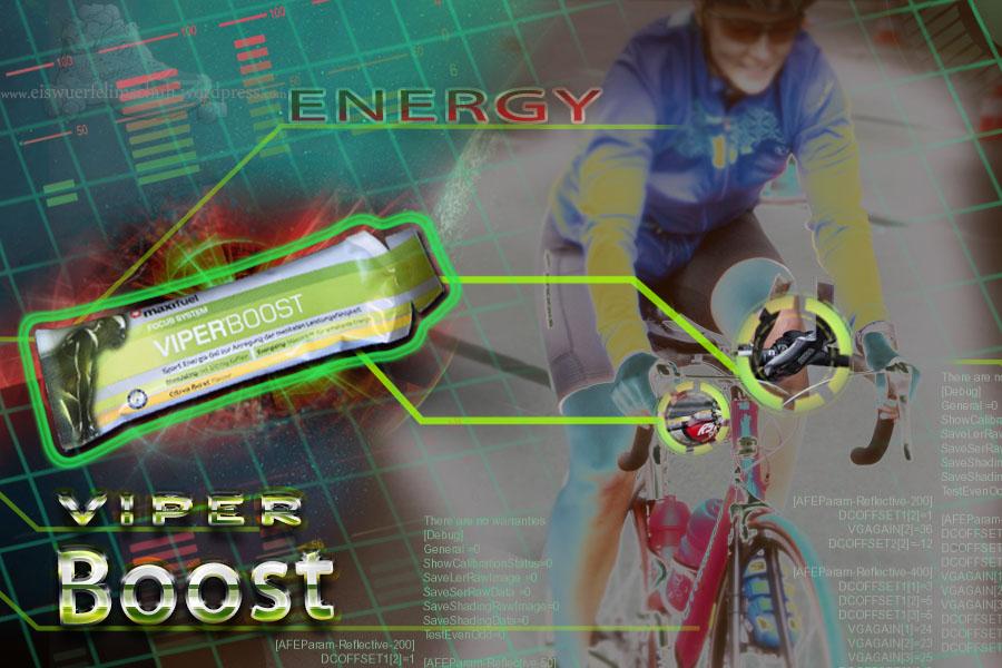 Maxinutrition ViperBoost Energiegel Rennrad