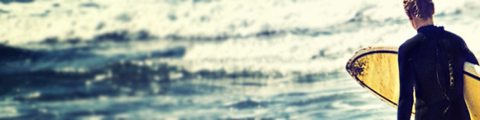 Sommer Surfen Musik Sand Beach Girl Surfing Motivation Waves