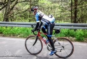 Eiswuerfelimschuh Rennrad Triathlon Koppeltraining Trainingscamp Garmin Skins Aerolenker