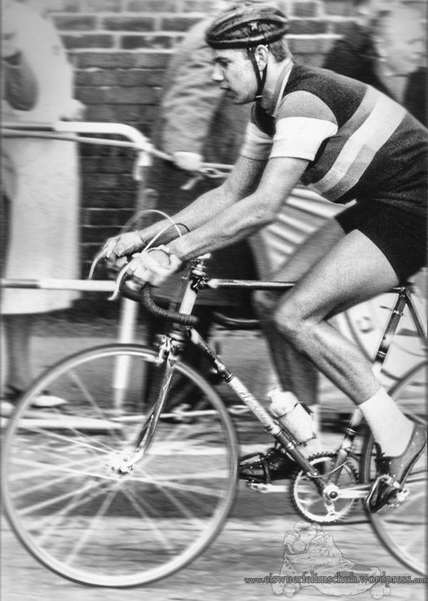 Radsport Foto Straßenrennen - Vintage