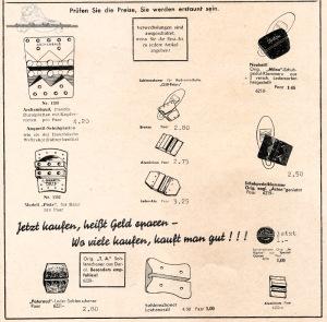 Vintage Rennrad Katalog - Schuhplatten 2