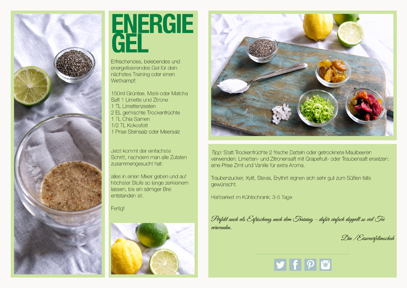 Energiegel Rezept Eiswuerfelimschuh