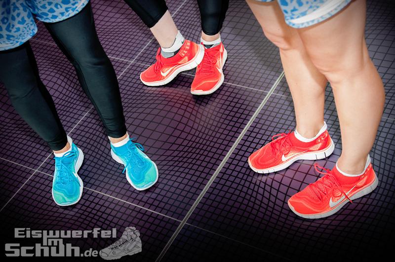 Eiswuerfelimschuh NIKE Free Flyknit Schuh Shoe Promotion Event Berlin (6)