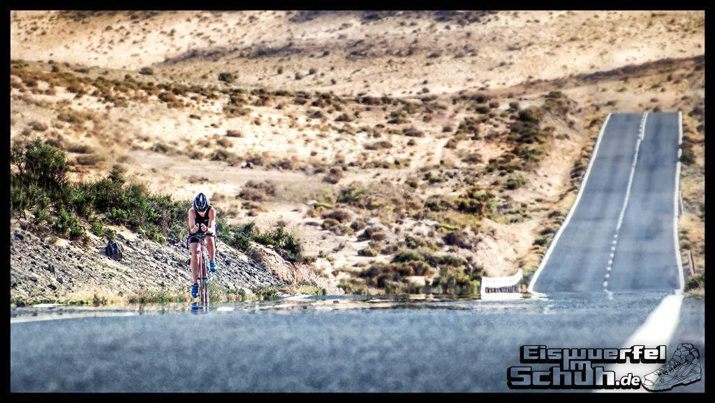 EISWUERFELIMSCHUH - Triathlon Rennrad Landstrasse Fuerteventura Spanien