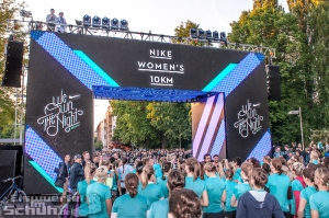 EISWUERFELIMSCHUH - NIKE We Own The Night Women Run Lauf Event Berlin 2014 (83)