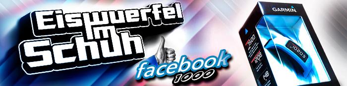 EISWUERFELIMSCHUH - Facebook Verlosung 1000 Follower Garmin 1