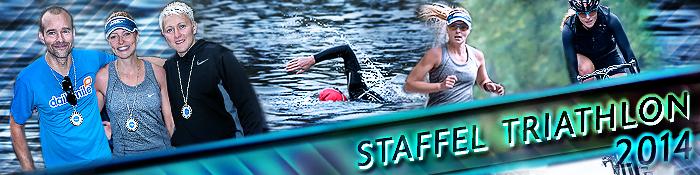 EISWUERFELIMSCHUH - Staffel Triathlon  Berlin 2014 Banner Header