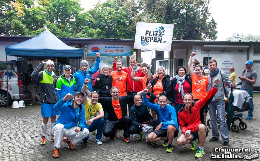 EISWUERFELIMSCHUH - Staffel Triathlon Startschuss Berlin 2014 (1000)