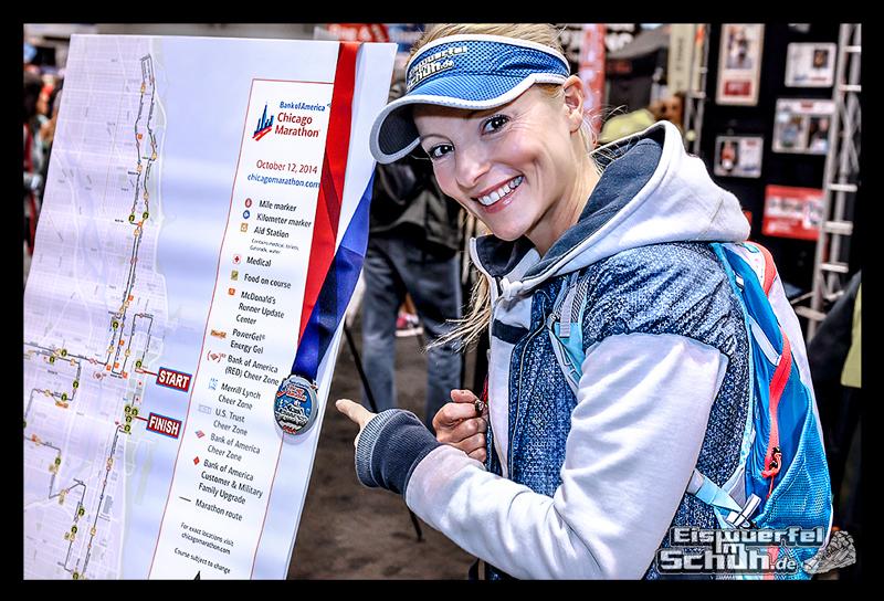EISWUERFELIMSCHUH - CHICAGO MARATHON 2014 PART I - Marathon Messe McCormick Place (70)