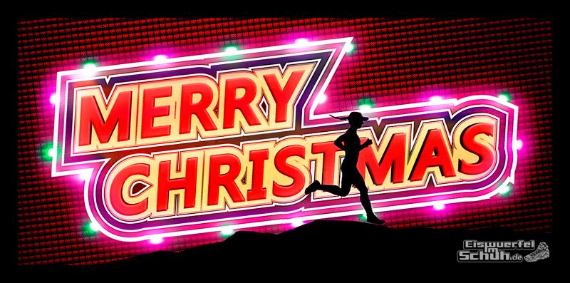 EISWUERFELIMSCHUH - Merry Christmas Froehliche Weihnachten Lauf Sport Blog 2014
