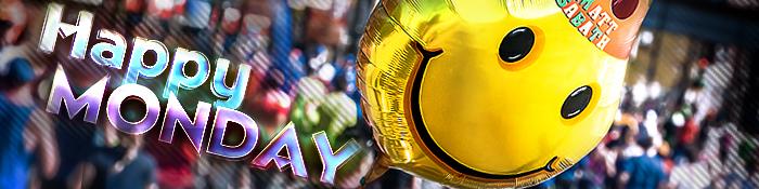 EISWUERFELIMSCHUH - Der Gluecksmontag Happy Monday Banner Header