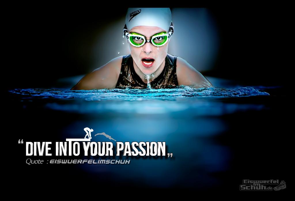 EISWUERFELIMSCHUH - Motivation Leidenschaft Schwimmen Triathlon SPEEDO ZOGGS Blau