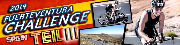 EISWUERFELIMSCHUH - Fuerteventura Challange Triathlon 2014 Banner Header I I I