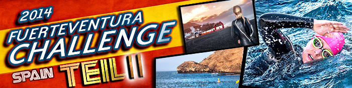 EISWUERFELIMSCHUH - Fuerteventura Challange Triathlon 2014 Banner Header I I