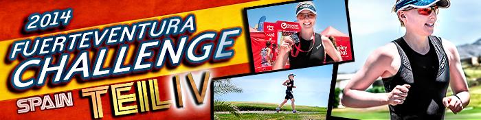 EISWUERFELIMSCHUH - Fuerteventura Challange Triathlon 2014 Banner Header I I I I