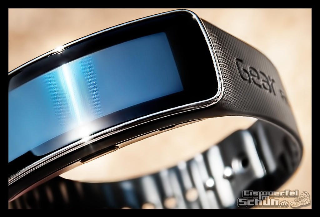 EISWUERFELIMSCHUH - SAMSUNG GEAR FIT TEST Fitness Tracker (3)