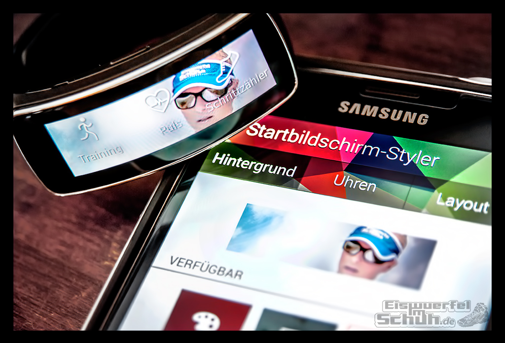 EISWUERFELIMSCHUH - SAMSUNG GEAR FIT TEST Fitness Tracker (9)
