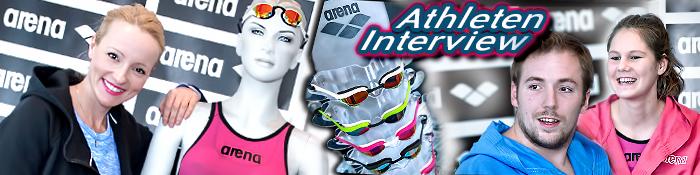 EISWUERFELIMSCHUH - ARENA Powerskin Carbon Schwimmen Interview Banner Header