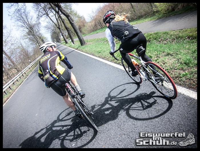 EISWUERFELIMSCHUH - Montags Glück Radsport Kameraden