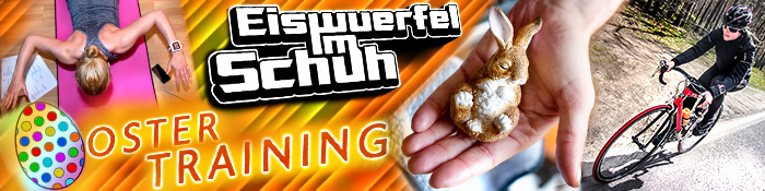 EISWUERFELIMSCHUH - OSTER TRAINING 2015 Banner Header