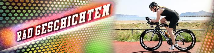EISWUERFELIMSCHUH - Radgeschichten Mallorca Triathlon 2015 Banner