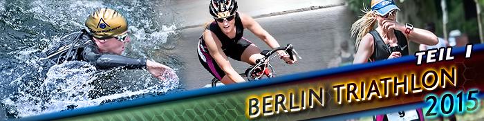 EISWUERFELIMSCHUH - BERLIN Triathlon 2015 TEIL I Banner Header