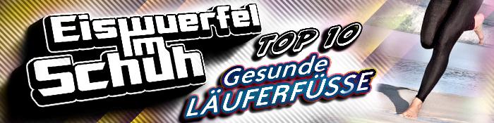 EISWUERFELIMSCHUH - TOP 10 Tips Fuer Gesunde Lauferfuesse Banner Header