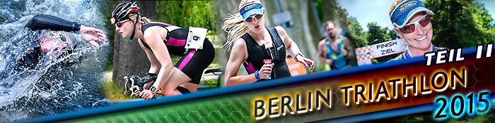 EISWUERFELIMSCHUH - BERLIN Triathlon 2015 TEIL I I Banner Header