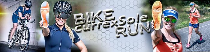 EISWUERFELIMSCHUH - CURREX SOLE Bike Run Banner Header