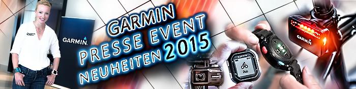 EISWUERFELIMSCHUH - GARMIN Presse Event Produktneuheiten banner header