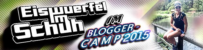 EISWUERFELIMSCHUH - Lauf-Blogger-Camp 2015 Banner Header
