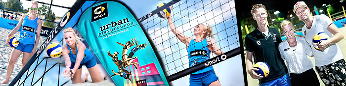 EISWUERFELIMSCHUH - Beachvolleyball Smart Urban Playgrounds Banner Header