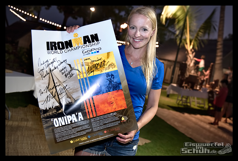 EISWUERFELIMSCHUH - Athletentreffen Autogramme Helden von Hawaii Ironman 2015 18