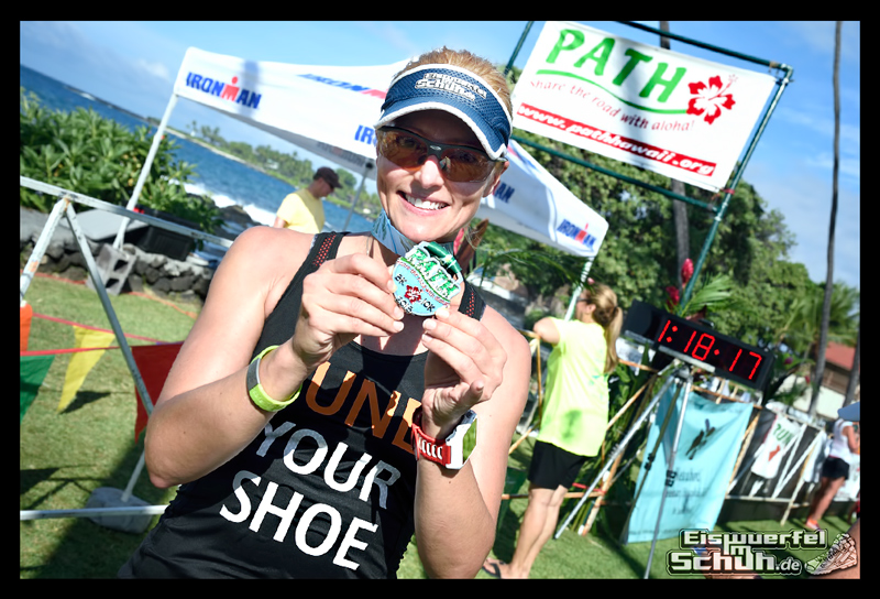 EISWUERFELIMSCHUH - Hawaii Path Run Ironman Lauf Kona Occasion 051