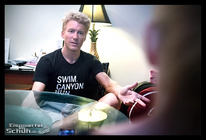EISWUERFELIMSCHUH - Nils Frommhold Interview IRONMAN HAWAII KONA 2015 012