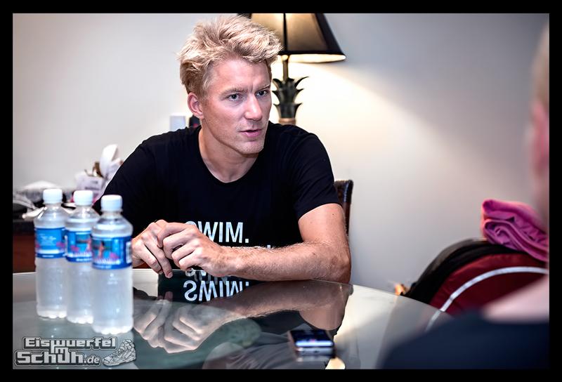 EISWUERFELIMSCHUH - Nils Frommhold Interview IRONMAN HAWAII KONA 2015 017