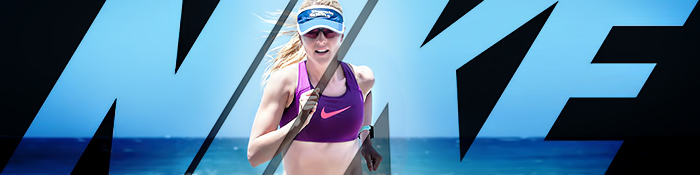 EISWUERFELIMSCHUH - NIKE Running Fitness Training Banner Header