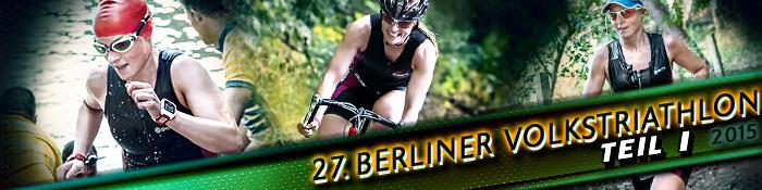 EISWUERFELIMSCHUH - 27 Berliner Volkstriathlon Triathlon Wettkampf Teil 1 Banner Header