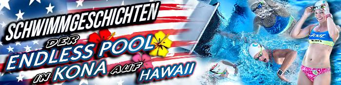 EISWUERFELIMSCHUH - Endless Pools IRONMAN CHAMPIONSHIP HAWAII KONA Banner Header