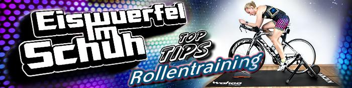 EISWUERFELIMSCHUH - Rollentraining TIPS Wahoo Fitness KIICKR Snap Banner Header