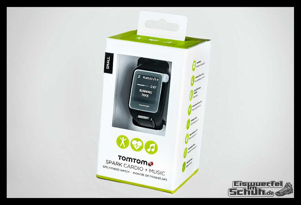 EISWUERFELIMSCHUH - TomTom Spark Cardio Multisport Laufen Fitnesstracker Herzfrequenz GPS Test Review (6)