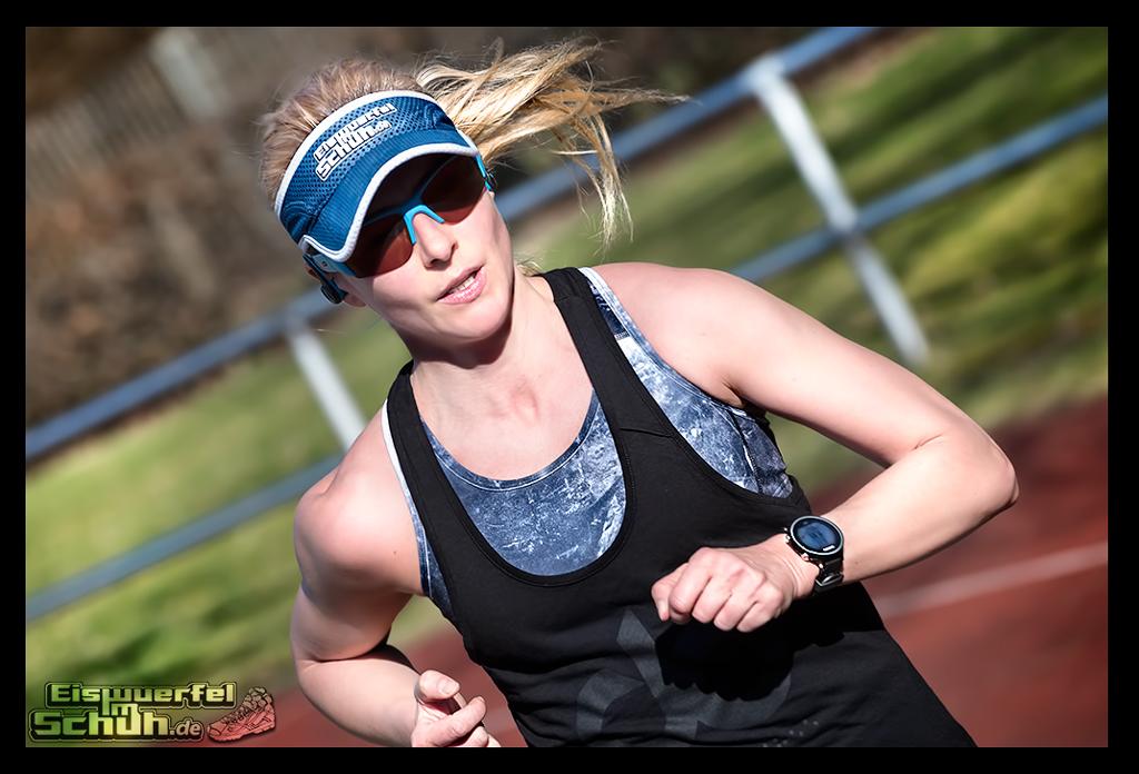 EISWUERFELIMSCHUH - Laufen Training Triathlon Tartanbahn Salming Skins Dosportlive Garmin (1)