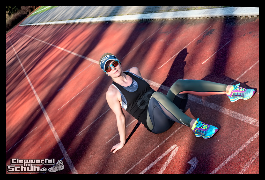 EISWUERFELIMSCHUH - Laufen Training Triathlon Tartanbahn Salming Skins Dosportlive Garmin (2)