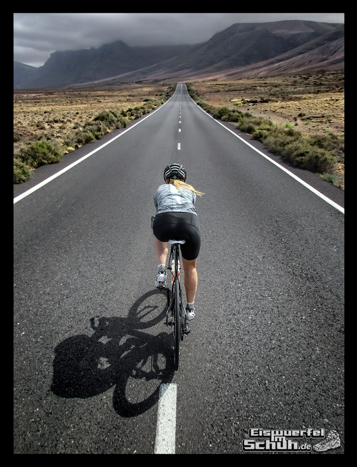 EISWUERFELIMSCHUH - Radgeschichten Lanzarote Triathlon Training 020