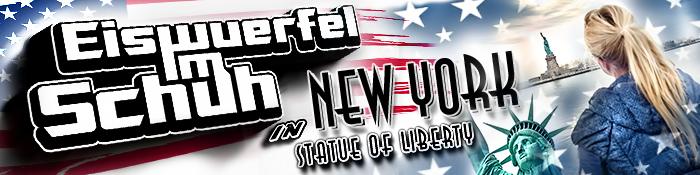 EISWUERFELIMSCHUH - Statue Of Liberty New York Freiheitsstatue Banner Header