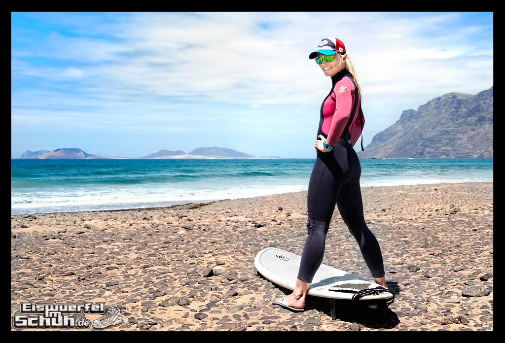 EISWUERFELIMSCHUH - Surfgeschichten Lanzarote Famara Surfen Kite I (1)
